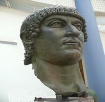 Statuaire Empereur Colossus Neronis Tête Musei Capitolini