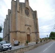 Hérault Loupian Eglise St Cécile Exterieurs