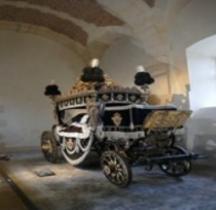 1824 Char funèbre de Louis XVIII Versailles Grandes Ecuries Musée des Carrosses