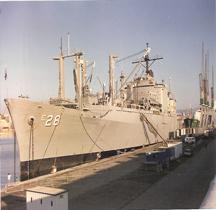 Ammunition ship USNS Santa Barbara AE-28