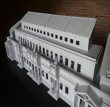 Rome Rione Campitelli Forums Impériaux 5 Forum Trajan Basilique Ulpia Maquette
