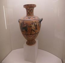 Etrurie Céramique Hydrie Panthère et Lionne Rome  MNE