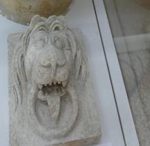 Rome Tombe Porte Pierre Poignée Gueule Lion Bologne