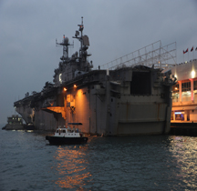 Amphibious assault ship USS Peleliu LHA-5