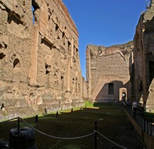 Rome Rione San Saba Thermes de Caracalla Natatio