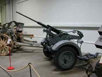 Canon Anti Aérien 2 cm Flak 30 Saumur