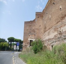 Rome Mura del URBS Rome Mura Aureliane Rione Saba Porta Ardeatina
