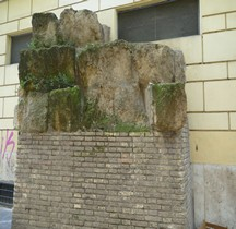 Rome Mura del URBS Murs Serviens Rome Rione Esquilio Via Carlo Alberto