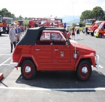 Volkswagen Typ 181 Kurierwagen Pompiers Le castellet 2018