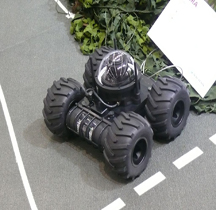 Terre Cobra Mark 2 Robot (UGV) Eurosatory 2010