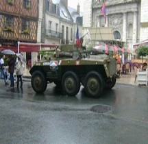M8 Light Armored Car Greyhound Hollande