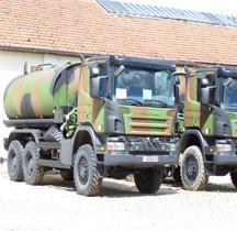 Scania P340  Arroseuse Versailles 2009