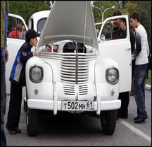 Opel Kapitän Berline Russie