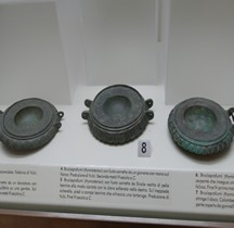 Vie quotidienne Mobilier Brûle parfum Bronze Rome Museo Nazionale Etrusco