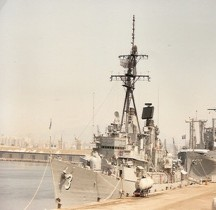 Destroyer USS DDG 3 John King Marseille 1990