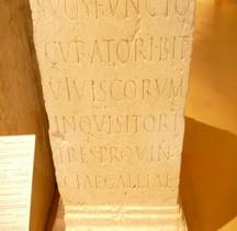 Pouvoir Epigraphie  Base Honorifique  Base Honorifique Lentulus Censoriubus Curator  Lyon