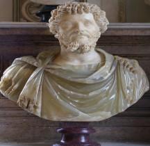 Statuaire 6 Empereurs 1 Septime Sévère Rome Musei Capitolini
