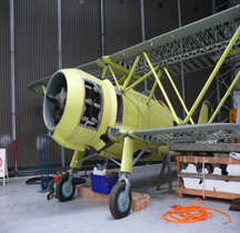 Fiat CR 42 Falco Restauration(Duxford)