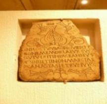 Rome Chrétienne Stèles Funéraires Chrétiennes Lyon