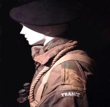 2°GM 1944 Commando SAS  Musée Résistance Bretonne