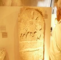 Stèle Funéraire Centenier Klaudius Ingemuus Cataphractaire Lyon