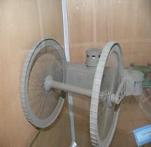 1915 Tsar tank Char Lebedenko Maquette Saumur,