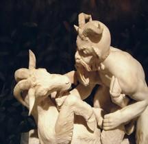 Statuaire Rome Pan e Capra Herculanum Villa dei Papiri Naples MAN
