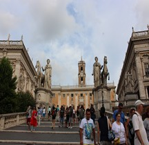 Rome Rione Campitelli Capitole Groupe Dioscures