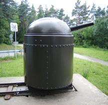 Tourelle Fahrbare Panzerlafette 5.3 cm