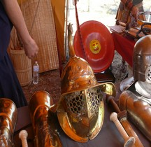 Gladiateur Thrace Casque Loupian