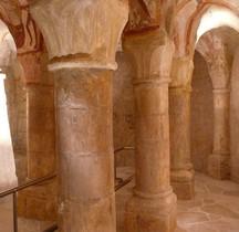 Indre et Loire Tavant Eglise St Nicolas Crypte
