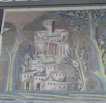 Mosaïque Medieval 715 Damas Grande Mosquée Paris Louvre