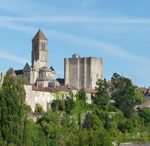Vienne Chauvigny Collégiale St Martin