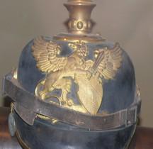 1914 Pickelhaube  Bade Infanterie