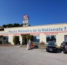 Vaucluse Piolenc Musée Mémoire de la Nationale 7