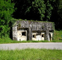 Meuse St Mihiel Ouvrages défensifs Allemands