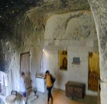 Maine et Loire  Brézé Chateau souterrrain