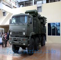 Missile Sol Air Pantsir S 1 Chassis Kamaz Blindé