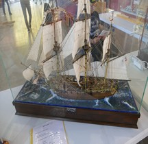 Slopp of War HMS Pegasus  1776 maquette Nimes 2019