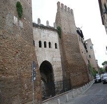 Rome Mura del URBS Rome Mura Aureliane Rione Esquilin Porta Tiburtina
