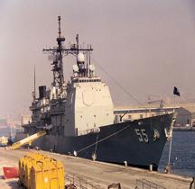 Croiseur Lance Missile USS Leyte Gulf  CG 55