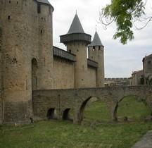 Aude Carcassone Chateau Comtal