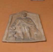 Rome Stèle Funéraire Soldat Bologne