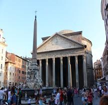 Rome Rione Pigna Panthéon Exterieur