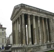 Isère Vienne Le Temple d' Auguste et Livie