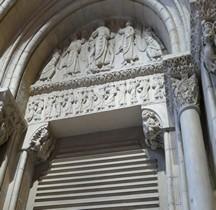 Haute Garonne Toulouse Basilique St Sernin Porte Miègeville Copie Paris MMF