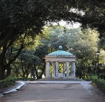 Rome Villa Borghese Jardins Tempio di Diana