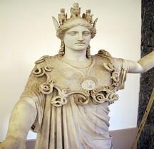 Statuaire Grèce Copie Rome Athéna Farnèse Naples