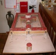Vienne Sanxay Temple Maquette