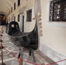 Venise Gondole XVIIIe siècle Palazzo Ducale